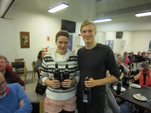 Nanna Torlyn & Uffe Friis vindere af D-rækken i parturneringen forår 2013