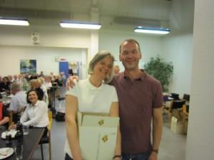 Lise Præstegaard & Anders Peter Jensen vindere af C-rækken i parturneringen forår 2013