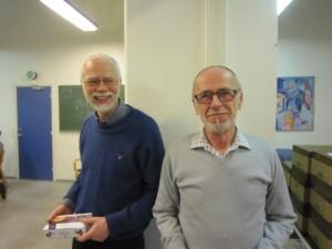 Peder & Kurt - nr. 2 i B-rækken til juleafslutningen