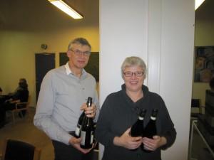 Birgit & Jens - nr. 2 i C-rækken i parturneringen