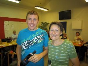 Bjarne & Felice - nr. 3 i C-rækken i parturneringen