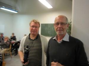 Gert & Finn - nr. 3 i A-rækken i parturneringen & nr. 2 til juleafslutningen i A-rækken