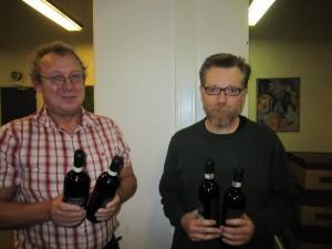 Kai & Erik - vinderne af D-rækken i IMP-parturneringen