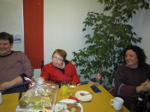 Gave til Birgitte - onsdagsklubbens administrative leder